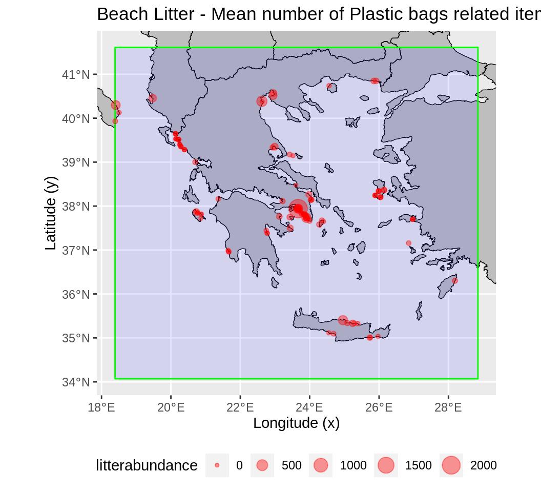 Marine Analyst beach Litter report
